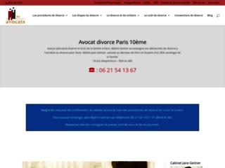 Avocat spécialisé en procédure de divorce au barreau de Paris