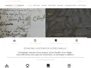 Généalogie Auvergne - Histoire & Familles