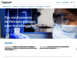 Généthon - Biothérapie sur http://www.genethon.fr