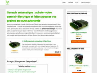 Guide premium sur le germoir automatique