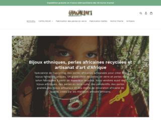 Ghanacraft - perles africaines, bijoux ethniques et déco