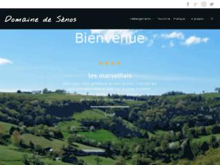 Aperçu du site Le Domaine de Sénos