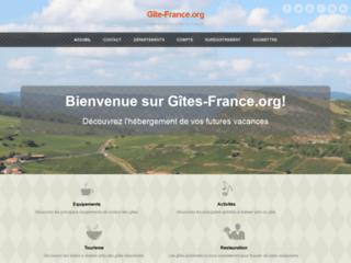Détails : www.gite-france.org