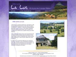 Gite groupe Ardèche