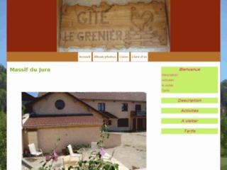 Week-end pas cher dans le Jura: Gite le Grenier à Bief des maisons