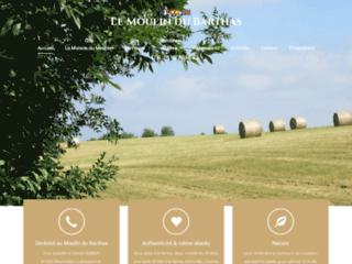 Le Moulin du Barthas : gîtes et chambres d'hôtes à la ferme dans le Ta