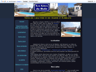 Gîtes, lac de madine dans le triangle Metz Nancy Verdun
