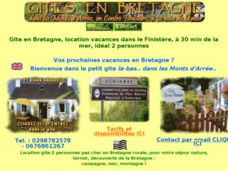 Gite en Bretagne