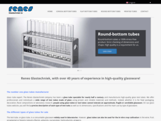 Rennes Glastechniek : Fabricant numero1 de tube à essai et tube en verre
