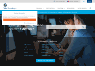 Détails : Organisme indépendant de formations informatiques Global Knowledge
