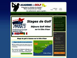 Détails : Séjours d'initiation pour débuter le golf