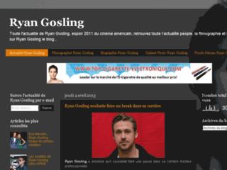 Détails : Gosling Ryan : biographie et cinématographie