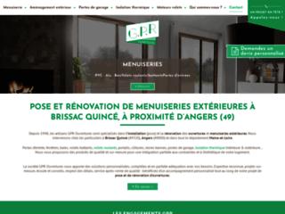 GPR Ouvertures - Rénovation Portes, Fenêtres, Portails à Angers, Brissac et dans le Maine et Loire