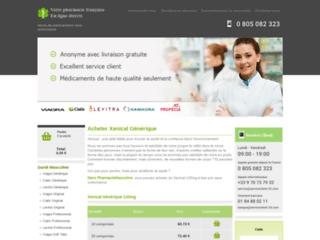 Aperçu du site Grande Pharmacie De Paris