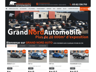 grand nord auto concessionnaire automobile sur lille. Black Bedroom Furniture Sets. Home Design Ideas