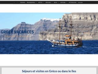 Grèce Vacances des vacances de rêve sur mesure
