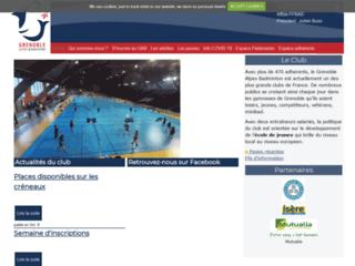 Image Grenoble université club badminton
