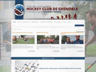 Site de l'association Hockey Club Grenoble