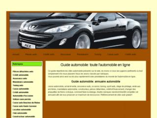 Guide automobile: toute l'automobile en ligne !