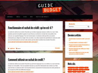 Détails : www.guide-budget.fr