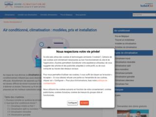 Détails : Le guide d'information sur la climatisation