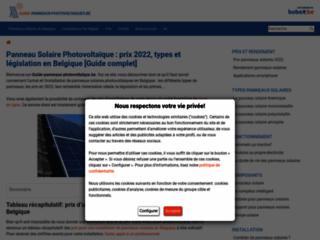 Détails : https://www.guide-panneaux-photovoltaiques.be/