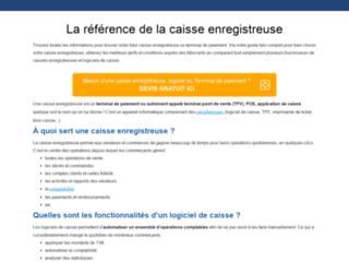 Détails : Le comparatif de la caisse enregistreuse