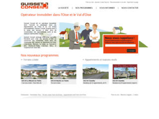 Capture du site http://www.guisset-conseil.fr