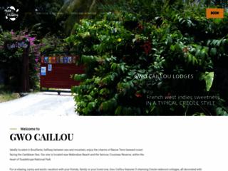 Capture du site http://www.gwocaillou.com
