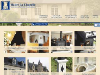 Hadet la Chapelle, taille de pierre � Angers