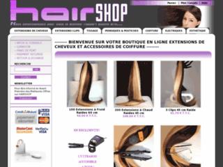 Extension de cheveux sur http://www.hairshop.fr/