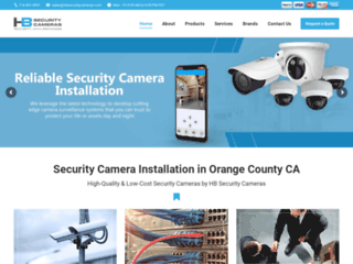 Security Cameras Orange County CA