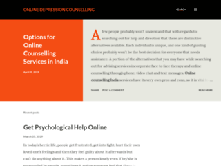 Options for Online Counselling Services in India