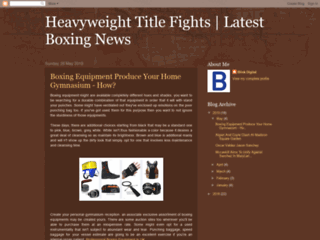 Boxing Equipment the Way to Choice the Correct Boxing Gloves & Headgear etc