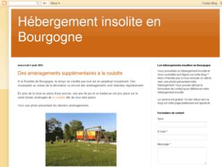Détails : Hébergement insolite en Bourgogne