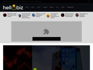 Détails : HelloBiz : les nouvelles idées d'entreprise