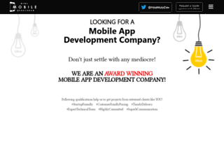 Hire mobile developer | Mobile application development | iOS developer | Mobile website development