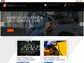Hitech Software pour un logiciel de location de matériel