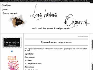 Les Hobbies d'Ombretta, recettes cosméto home made
