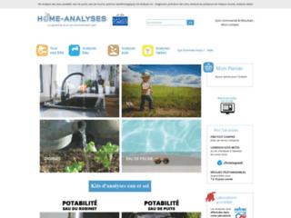 Kit d'analyse de l'eau, air, aliments, sols