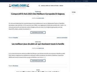 Le blog Homeloisirs, toute l'actualité du trampoline