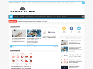Aperçu du site Horizon Du Web