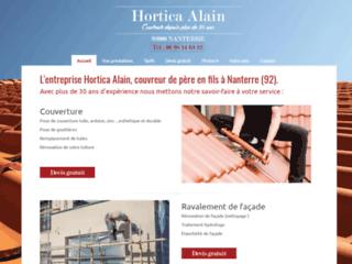 Hortica Alain couvreur zingueur à Nanterre