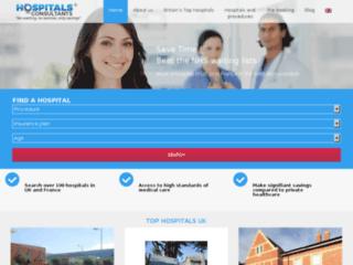 Détails : www.hospitalsconsultants.uk