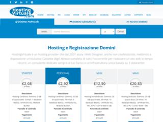 HostingVirtuale.com - Registrazione Domini e Web Hosting
