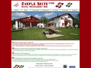 Hotel restaurant Achafla Baita : Ascain - Pays Basque