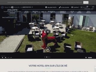Hôtel Atalante Ile de Ré- Week end Thalasso dans un Hôtel restaurant 3 étoiles sur l'Ile de Ré