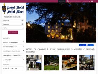 Week-end en Hôtel de charme en Auvergne - Royal St mart