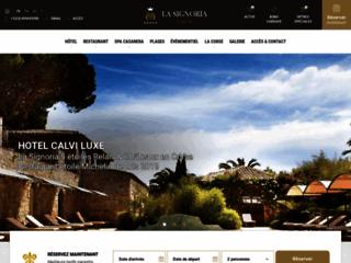 Détails : La Signoria :  Hôtel de luxe en Corse 5* .