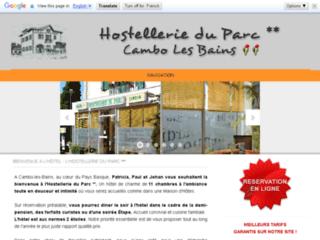 Hostellerie du Parc ** - Hotel à Cambo les Bains au Pays Basque